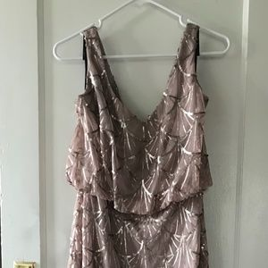 Sorella Vita Bridesmaid Dress Sequin 9062 Bronze